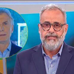 Mauricio Macri y Jorge Rial