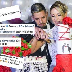 Mónica Farro se casó con muchos canjes.