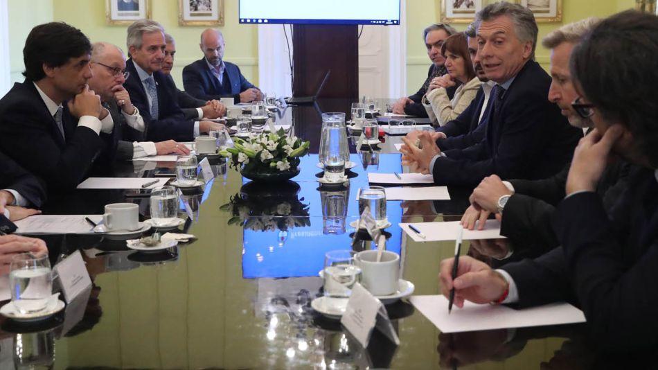 Macri reunión de Gabinete