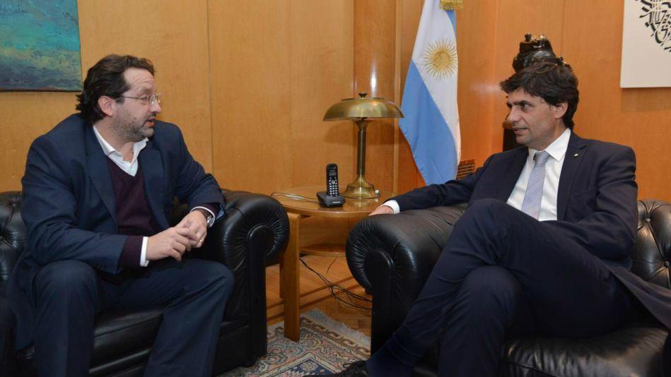 Marco Lavagna y Hernán Lacunza