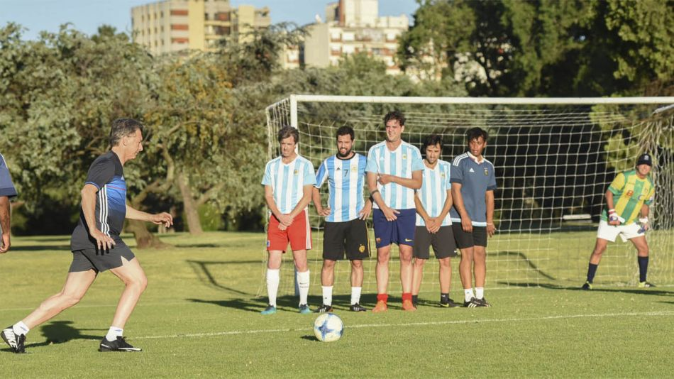 Mauricio Macri fútbol