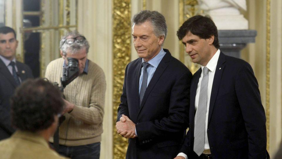 Hernán Lacunza juró este martes como ministro de Hacienda.