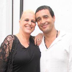 Tras 13 años de amor, Valeria Lynch se separó Cau Bornes