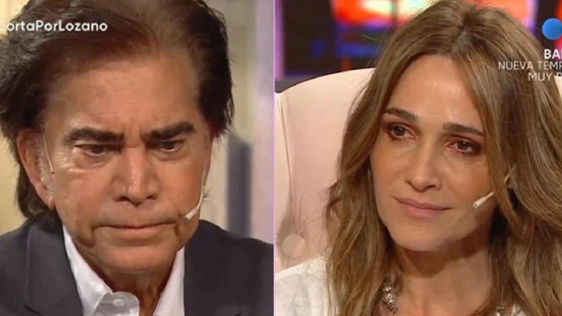 El Puma Rodríguez rompió en lágrimas y Vero Lozano no pudo evitar emocionarse