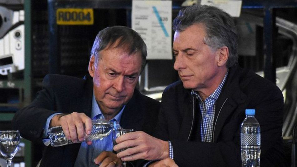 El gobernador de Córdoba Juan Schiaretti y el presidente Mauricio Macri