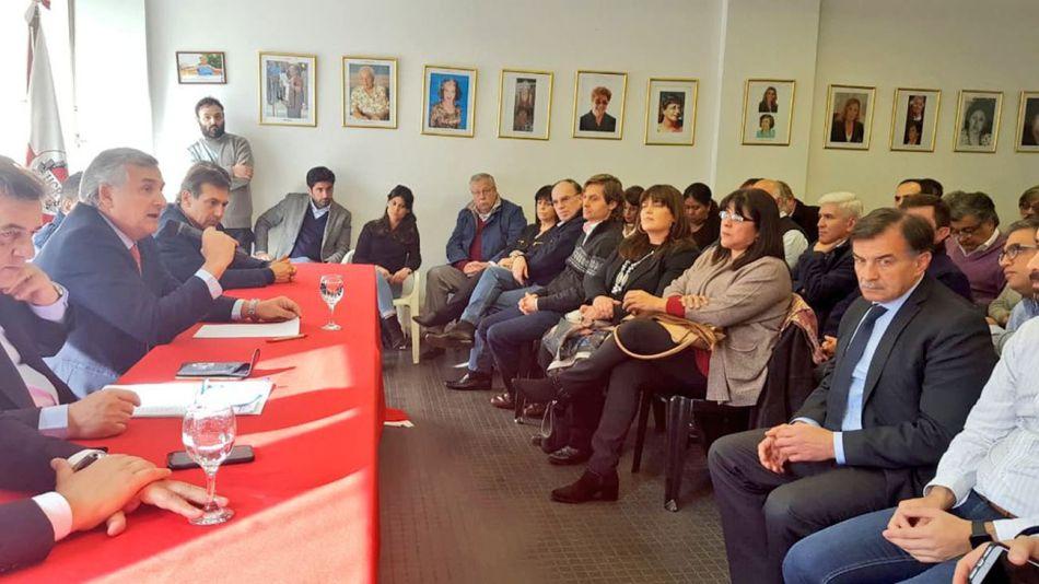 Reunión en el Comite Nacional 21082019