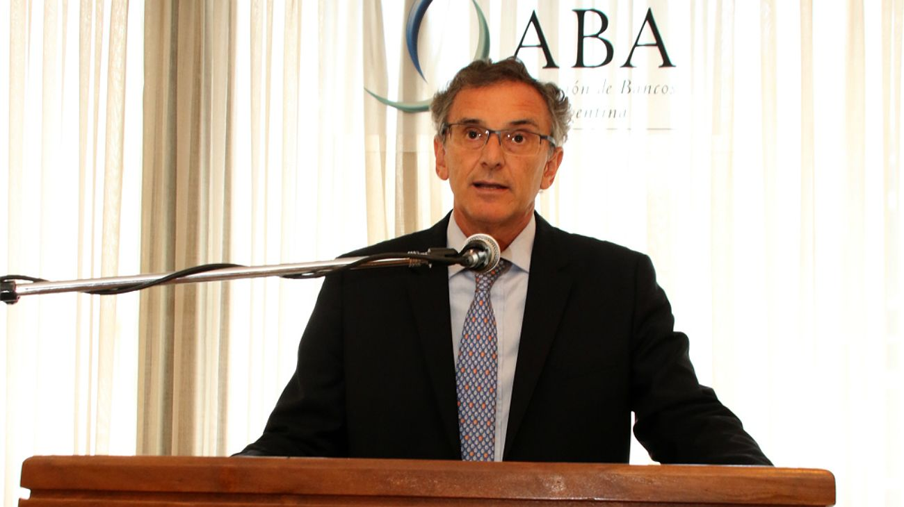 Claudio Cesario, titular de la Asociación de Bancos de la Argentina.