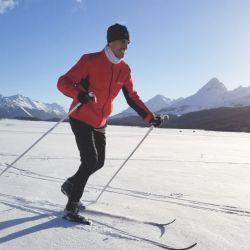 De a poco, a medida que avanzaba el entrenamiento, se iba tomando confianza sobre la nieve.
