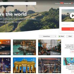 Nomadlist maneja una gran base de datos con toda la información referente a las mejores ciudades del mundo en función de criterios como el clima, costo de vida e incluso la velocidad del internet.