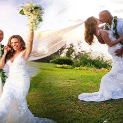 """Dawyne """"La Roca"""" Johnson, el mejor pago y recién casado"""