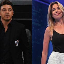 Marcelo Gallardo y Alina Moine