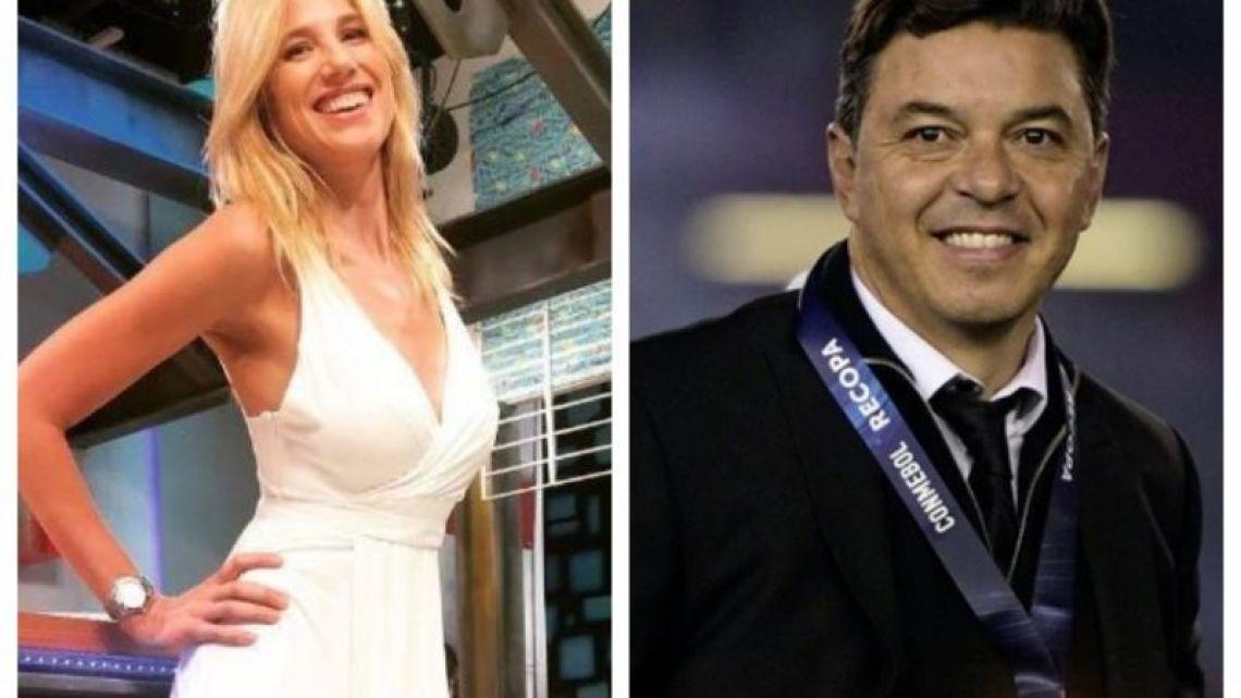 El video se que hizo viral de Marcelo Gallardo y Alina Moine, que probaría el romance