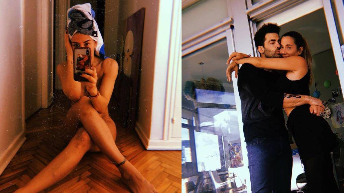 Jimena Barón se desnudó y Mauro Caiazza le hizo un comentario ultra hot