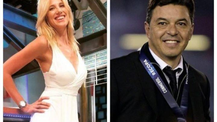 El video de Marcelo Gallardo y Alina Moine que se hizo viral