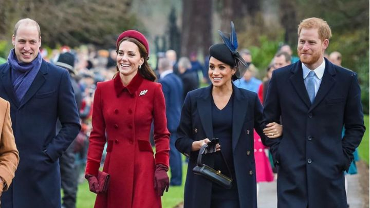 El reencuentro más esperado entre Kate, Meghan y los príncipes William y Harry