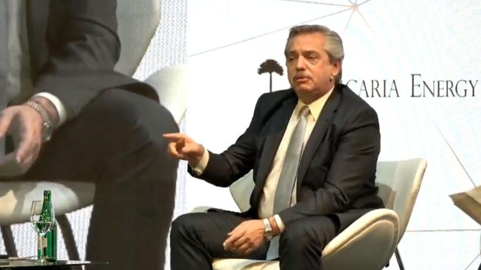 Alberto Fernandez en el Malba