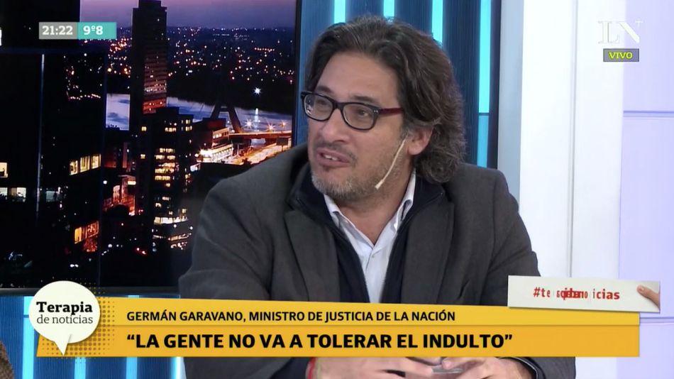 Germán Garavano, ministro de Justicia.