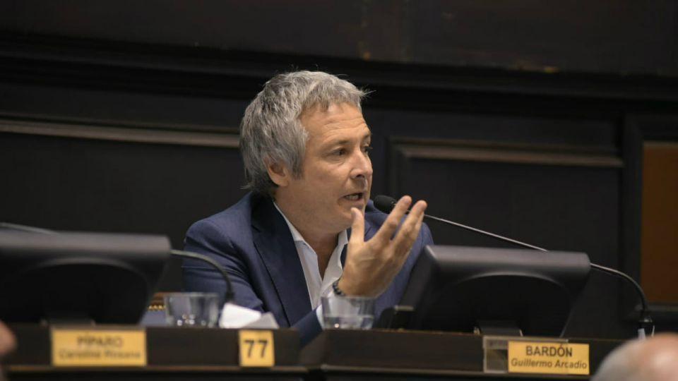 El diputado bonaerense Guillermo Bardón