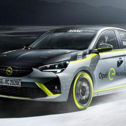 Opel Corsa e-Rally.
