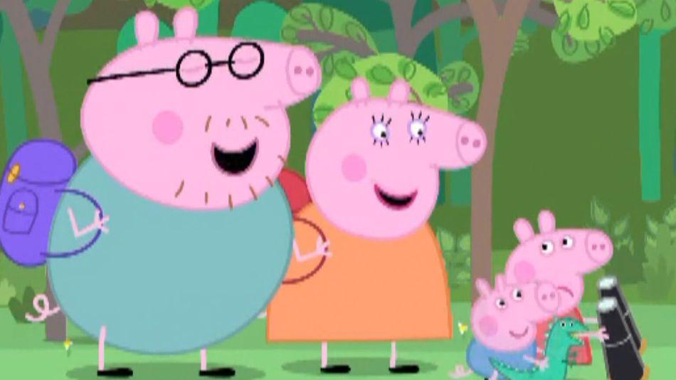 Peppa Pig, el exitoso clásico infantil de Entertainment One.