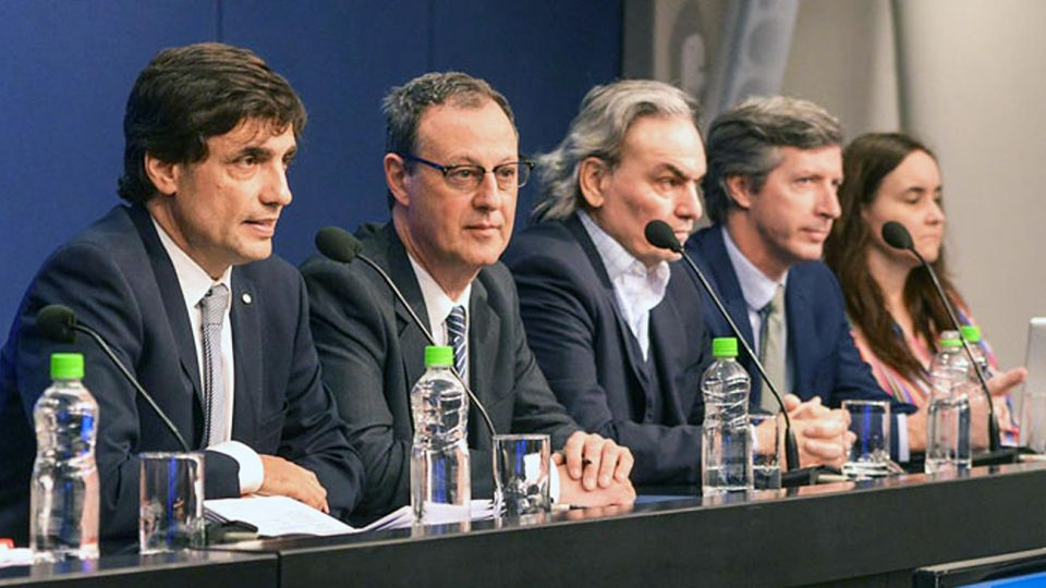 Interlocutor. El Fondo se reunió con Lacunza cuando estaba a cargo de la economía de la provincia de Buenos Aires. Esta semana debutó el nuevo/viejo equipo.