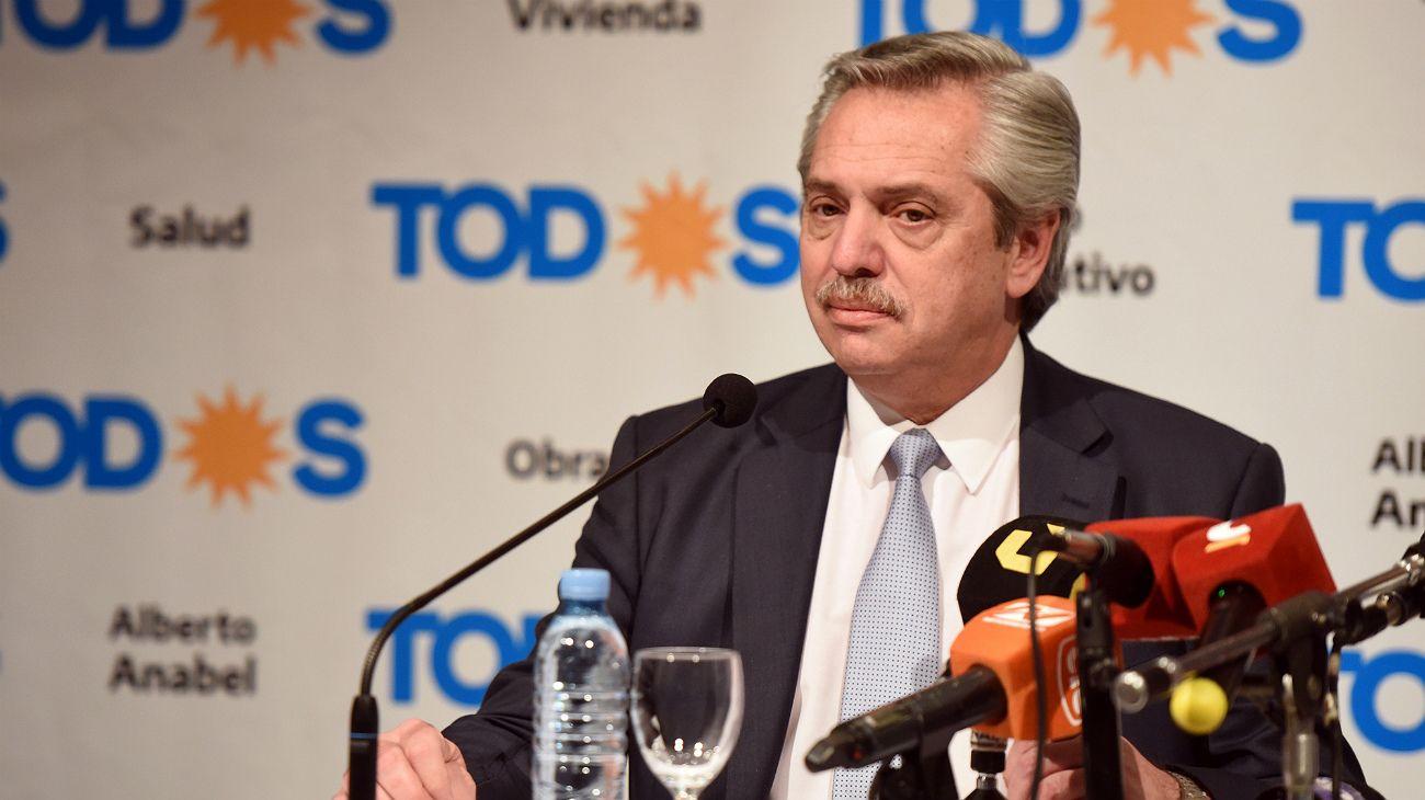 Según una encuesta, un 55% de los que no fueron a las PASO votarían a Alberto Fernández