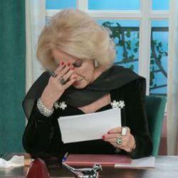 Mirtha Legrand lloró por Josecito