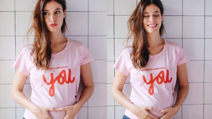 Agustina Córdova anunció el exótico nombre de su bebé