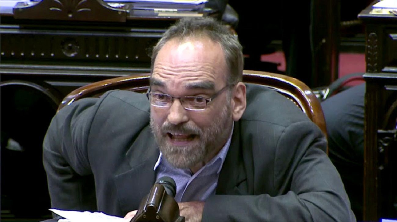 El verborrágico Fernando Iglesias volvió a cargar contra la oposición.