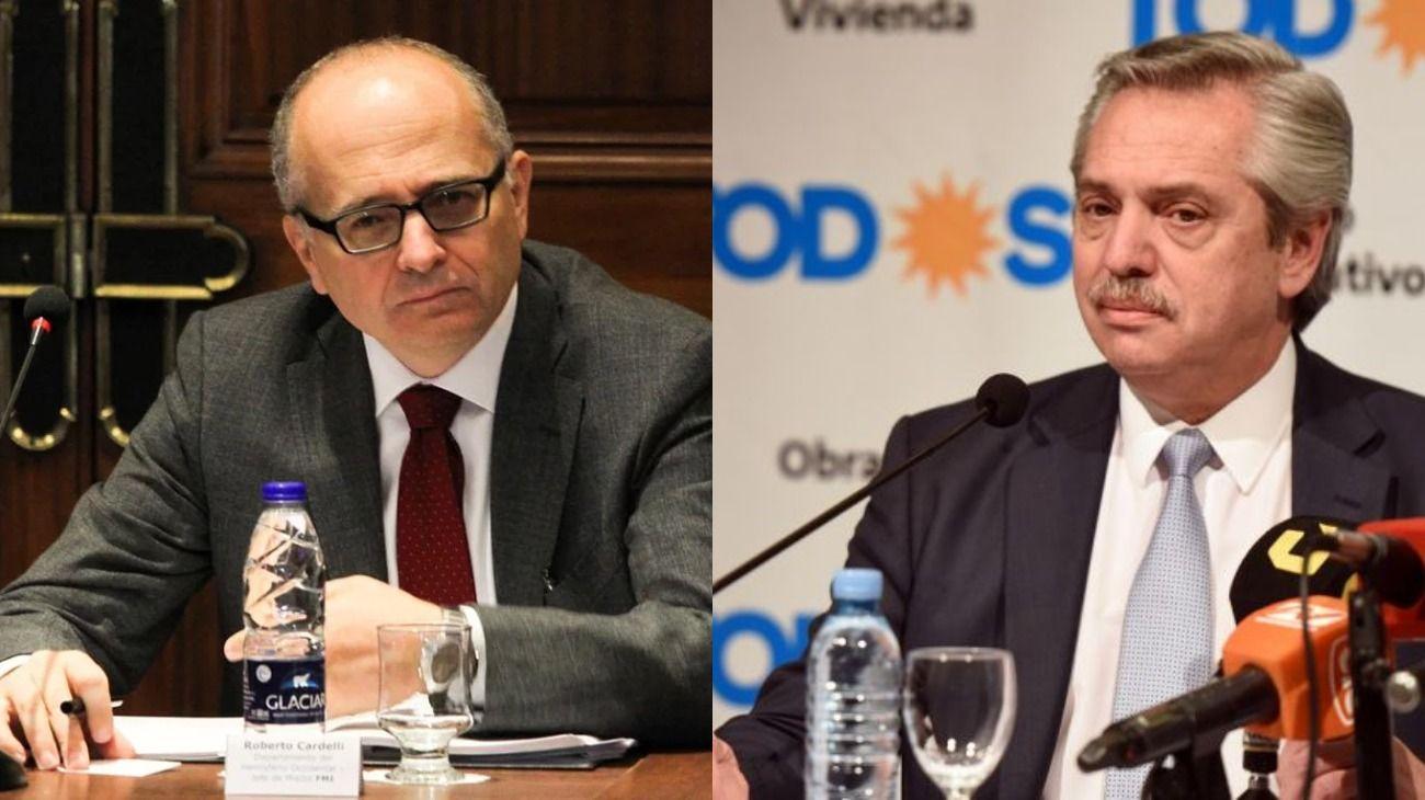 Alberto Fernández culpó al FMI y al Gobierno por la crisis argentina