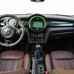 Interior del MINI 60 Years Edition.