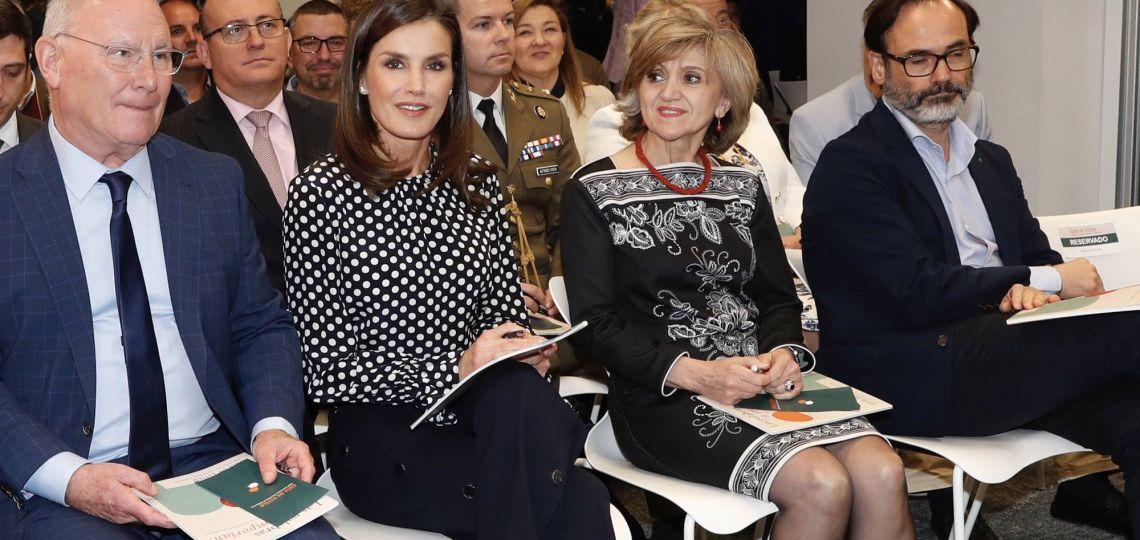 Descubrí cuál es el estampado favorito de la reina Letizia