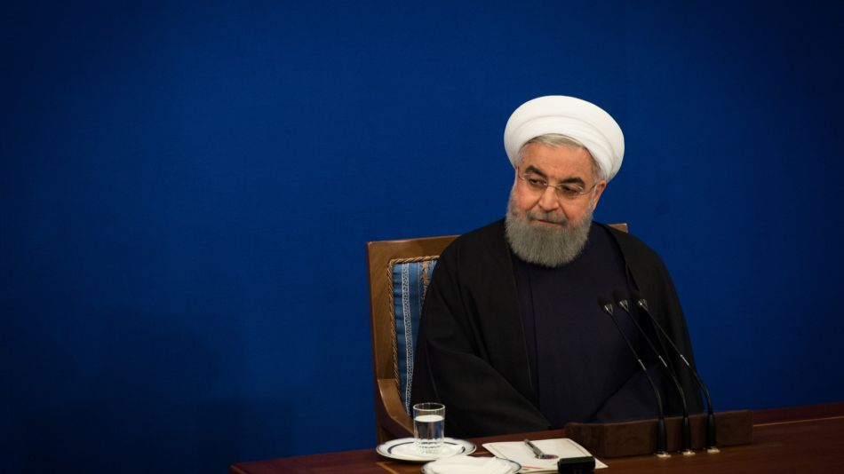 Iran's President Hassan Rouhani News Conference