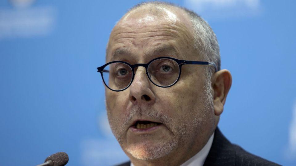 El ministro de Relaciones Exteriores y Culto, Jorge Faurie.