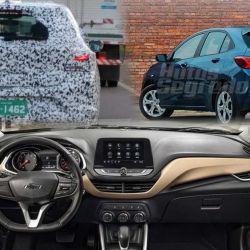 Interior Chevrolet Onix (Fuente: Autos Segredos)