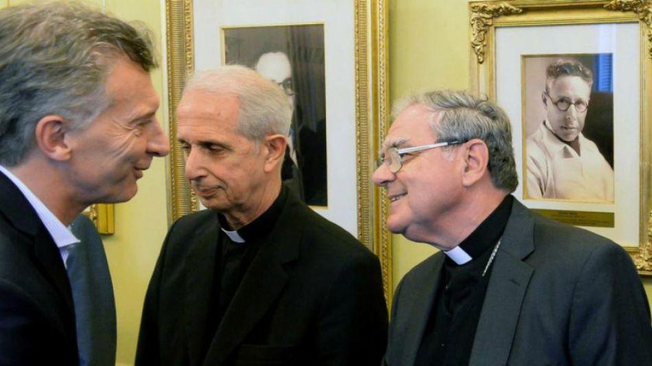 Archivo. Macri recibirá a Ojea y Poli, presidente y vice del Episcopado.