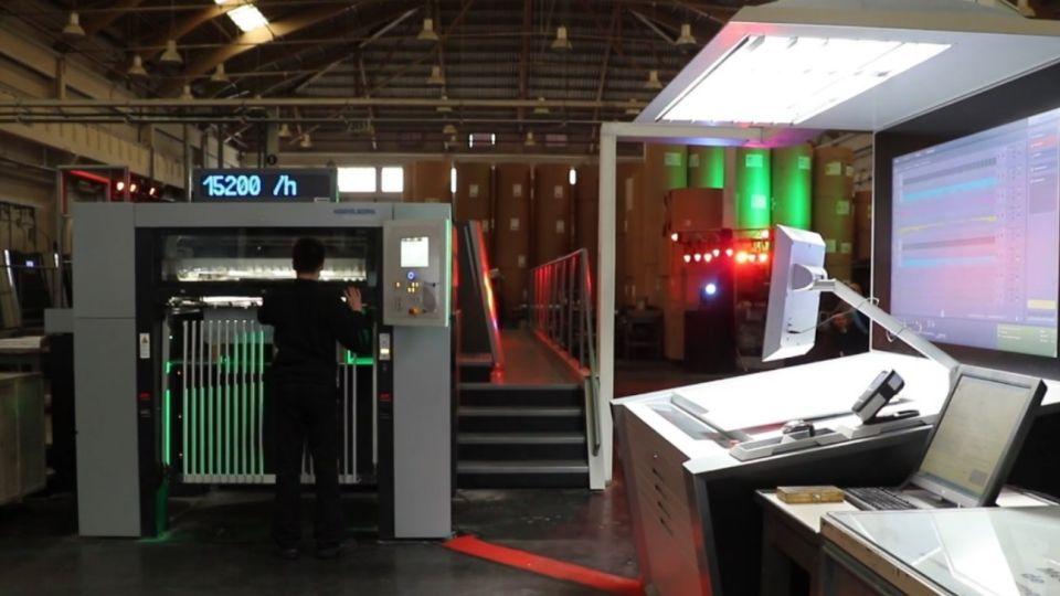 Nueva impresora plana Heidelberg XL-106 de última generación en Arcángel Maggio.
