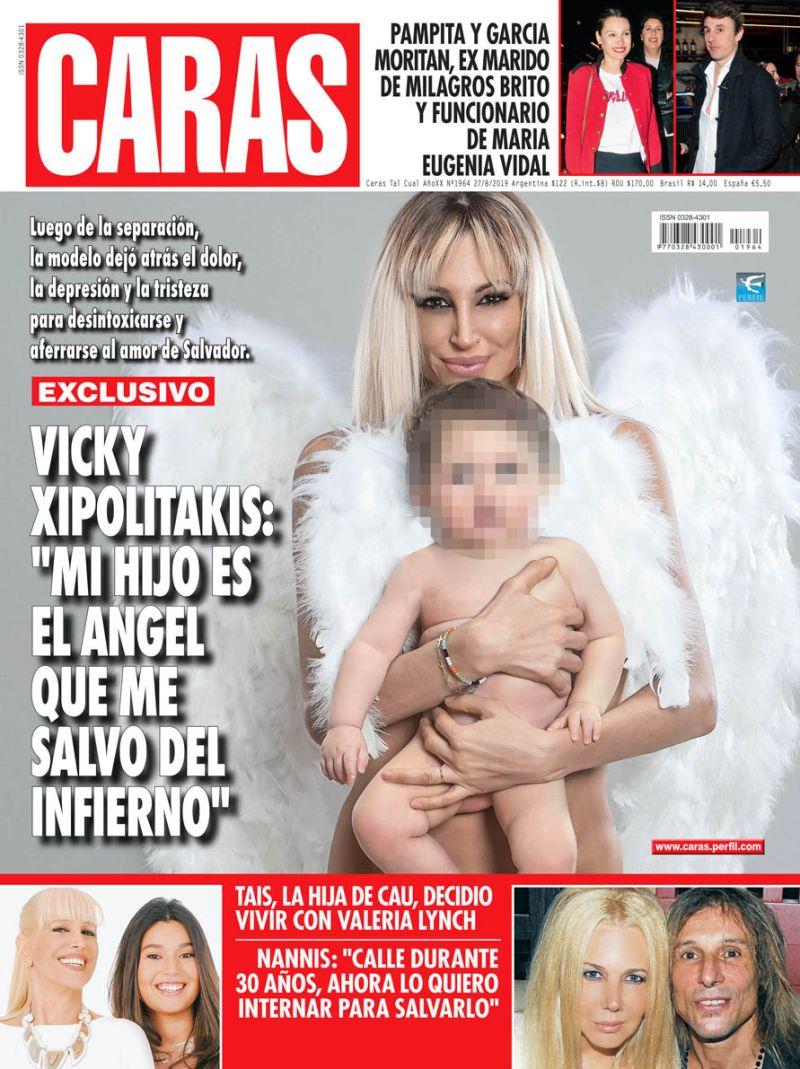 """Vicky Xipolitakis: """"Mi hijo es el ángel que me salvó del infierno"""""""