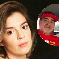 Dalma Maradona, Diego Maradona y Matías Morla