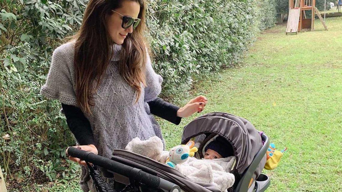 El angustiante pedido de Luli Fernández por una vacuna para su hijo