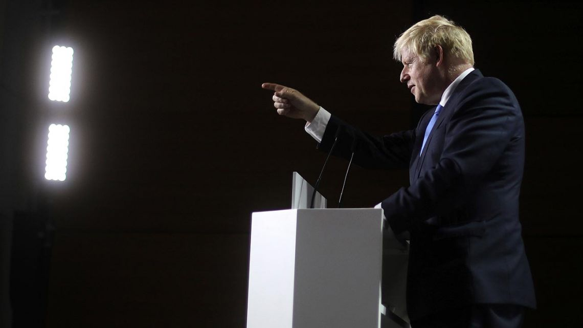 UK Prime Minister Boris Johnson.