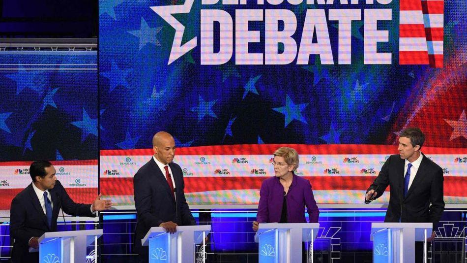 Debate Presidencial 2020 Estados unidos 28082019