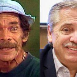 Don Ramón y Alberto Fernández