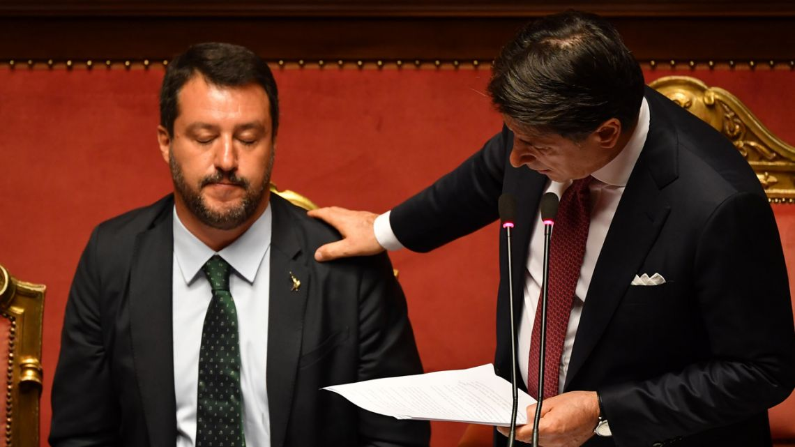 Italy agrees new government coalition to avert crisis