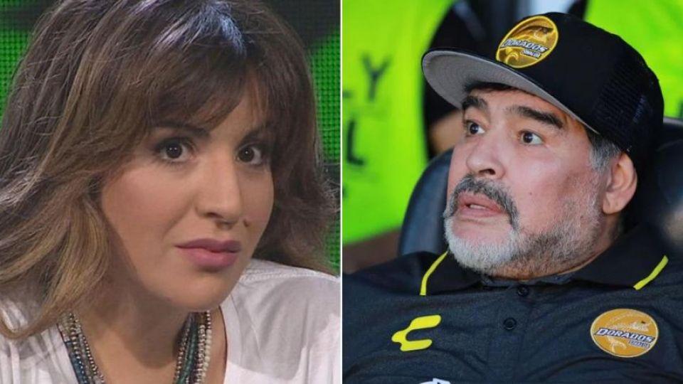 """La fuerte reflexión de Gianinna Maradona contra su padre: """"Me robaste la verdad"""""""