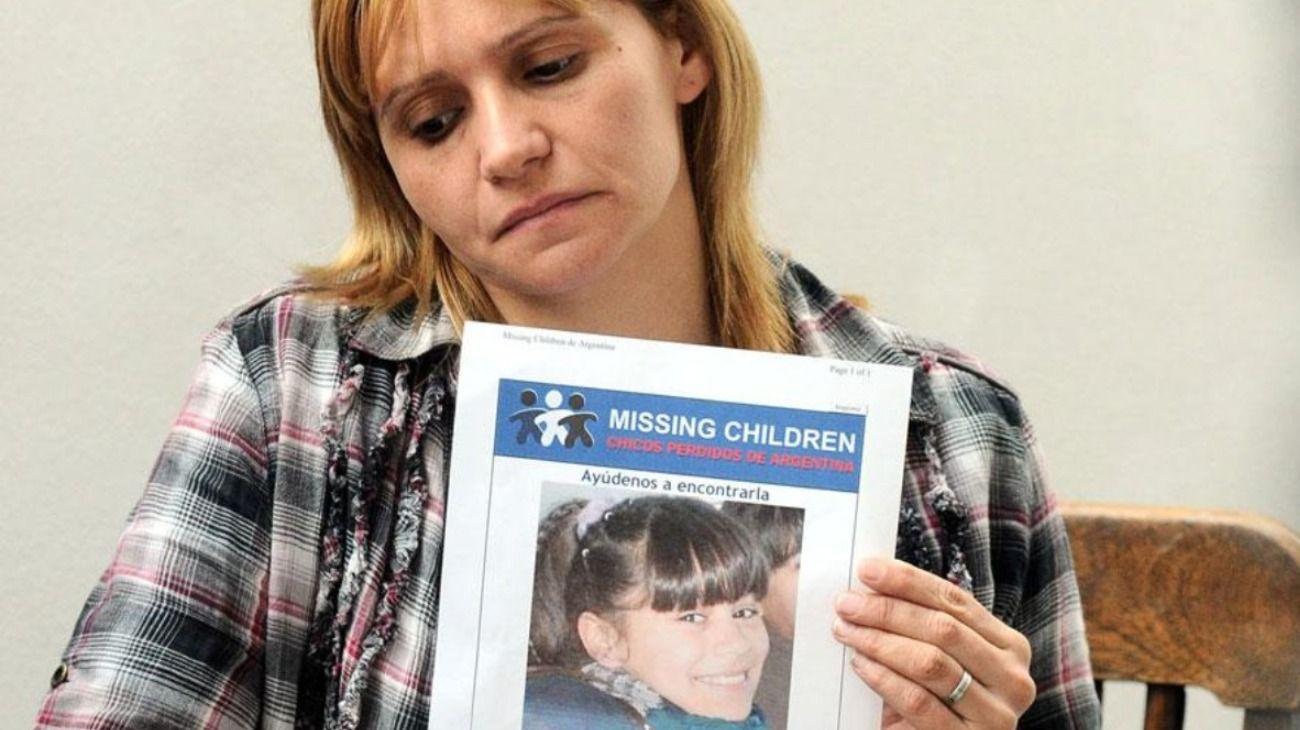Carola Labrador, mamá de Candela Rodríguez, la nena de 11 años que fue secuestrada, violada y asesinada en agosto de 2011.