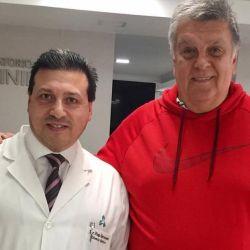 Recibió el alta médica Luis Ventura