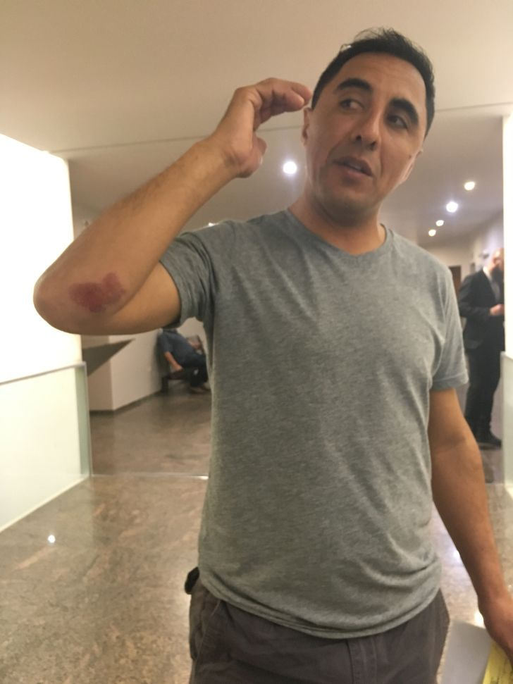 JOSE LUIS CABELLO. El miércoles por la noche lo atacaron mientras circulaba en moto. Ahora se mueve con custodia.