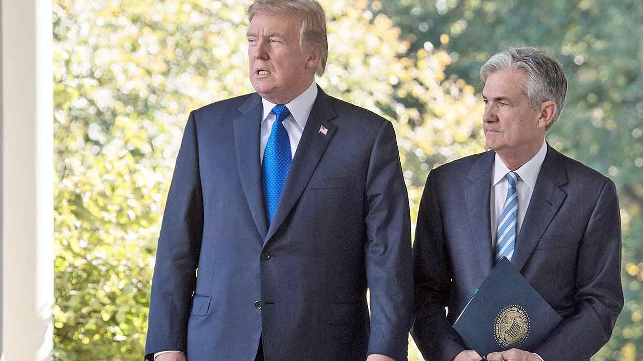 Powell, el jefe de la Fed y enemigo íntimo de Trump
