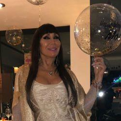 El glamorosa e íntima fiesta de cumpleaños de Moria Casán
